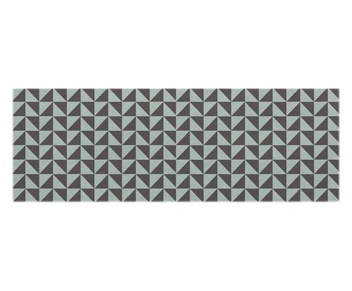 Passadeira PVC Deirdre, Azul e Marrom | WestwingNow