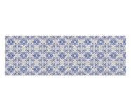 Tapete Passadeira Estampada Laundry Simple - Azul | WestwingNow