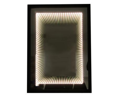 Espelho com Led Infinito Bivolt - Preto | WestwingNow