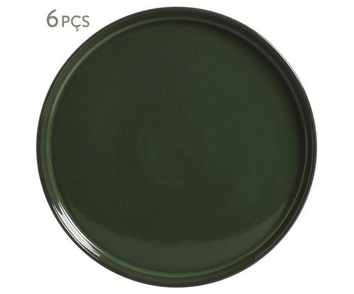 Prato Sobremesa em Cerâmica Neo 06 pessoas - Cinza, Cinza | WestwingNow