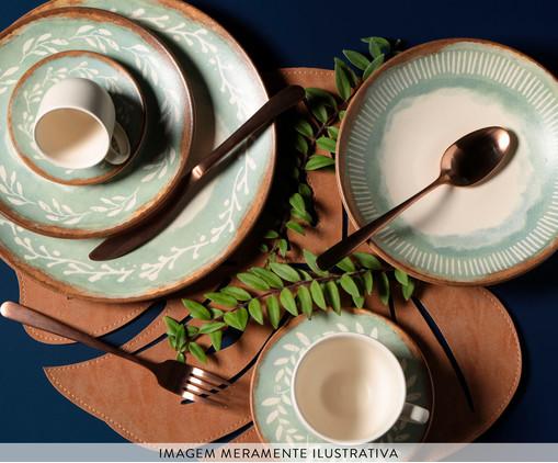 Jogo de Pratos Fundos em Cerâmica Coup Mediterrâneo 06 Pessoas - Estampado, multicolor | WestwingNow