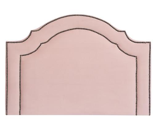 Cabeceira Painel em Veludo Royal Tacha - Rosa, Rosa | WestwingNow