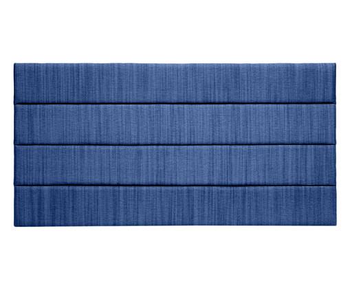 Cabeceira Painel em Linho Frank - Azul, Azul | WestwingNow