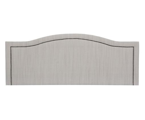 Cabeceira Painel em Linho Joliet - Off White, Cinza | WestwingNow