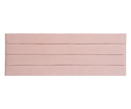 Cabeceira Painel em Veludo Frank - Rosa, Rosa, Rosé | WestwingNow