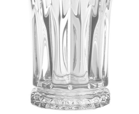 Jogo de Copos para Drinks em Cristal Iva - Transparente | WestwingNow