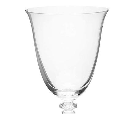 Jogo de Taças para Água em Cristal Cleo - Transparente | WestwingNow