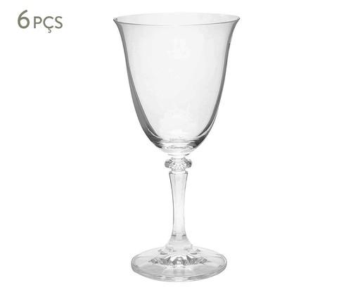 Jogo de Taças para Água em Cristal Cleo - Transparente, Transparente | WestwingNow