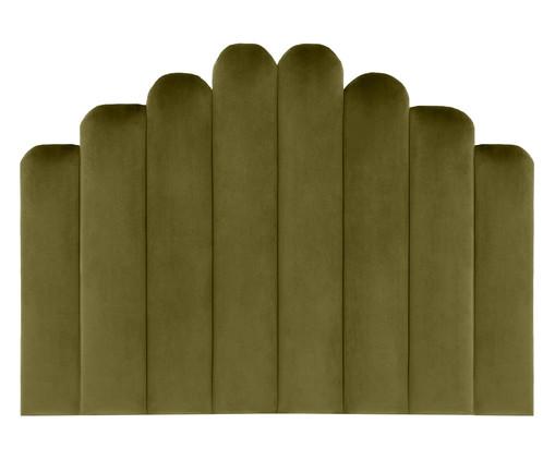 Cabeceira Painel em Veludo Royal Gomos - Verde, Verde   WestwingNow