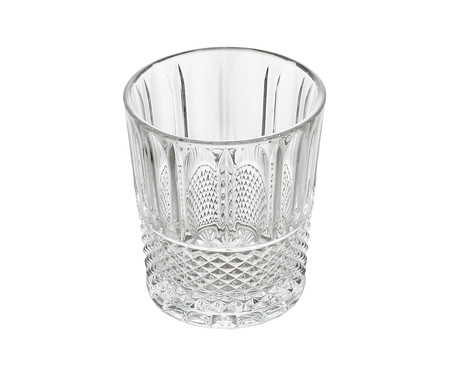 Jogo de Copos em Cristal Skinn - Transparente | WestwingNow