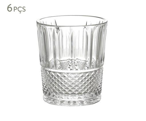 Jogo de Copos em Cristal Skinn - Transparente, Transparente | WestwingNow