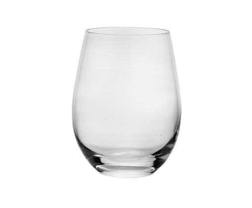 Copo para Água em Vidro Gabi - Transparente, Transparente | WestwingNow
