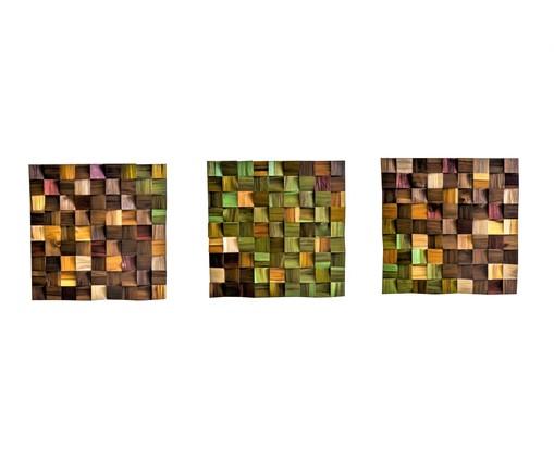 Quadro De Madeira 3D - Gaia, multicolor   WestwingNow