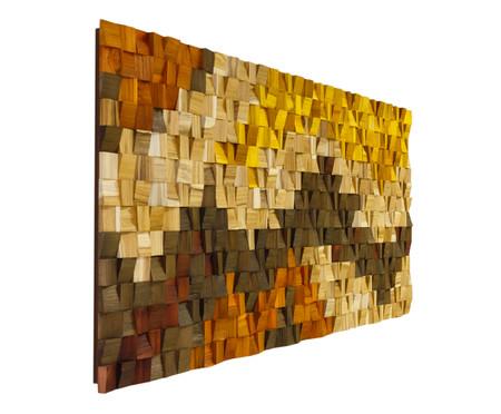 Quadro de Madeira 3D Kamona Colorido - 170x70cm | WestwingNow