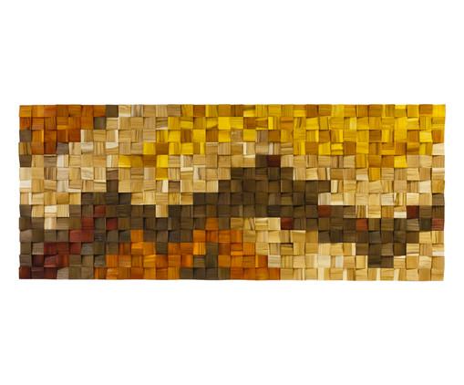 Quadro de Madeira 3D Kamona Colorido - 170x70cm, multicolor | WestwingNow