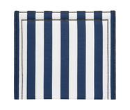 Cabeceira em Linho Adele - Listrada Azul | WestwingNow