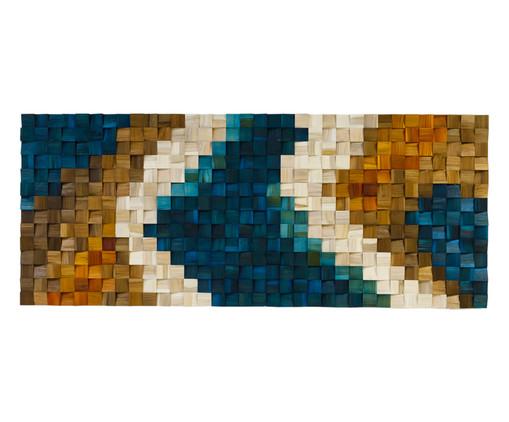 Quadros de Madeira 3D Lokene - Colorido, multicolor | WestwingNow