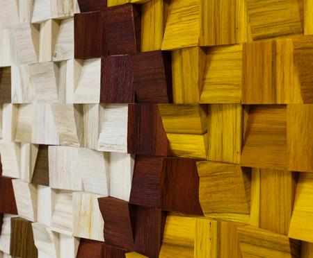 Quadros de Madeira 3D Lopaka - Colorido | WestwingNow