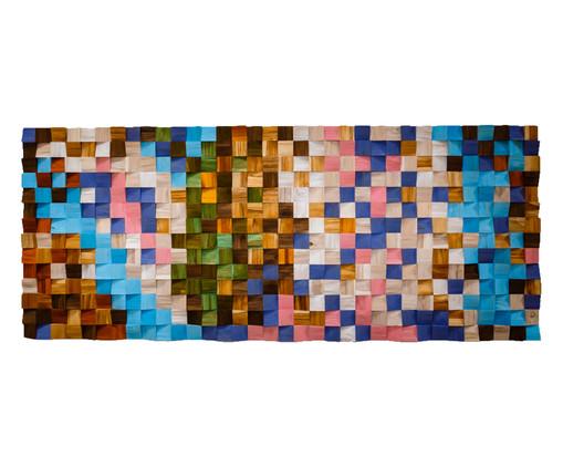 Quadros De Madeira 3D Maluhia - Colorido, multicolor | WestwingNow