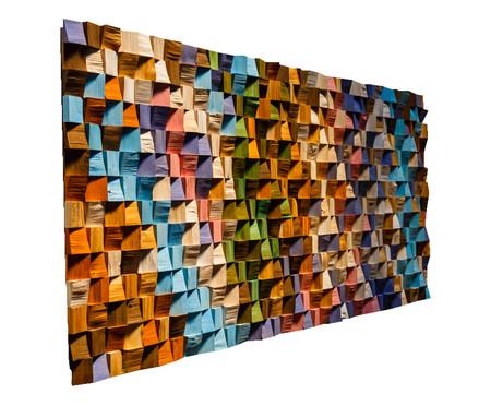 Quadro De Madeira 3D - Maluhia | WestwingNow