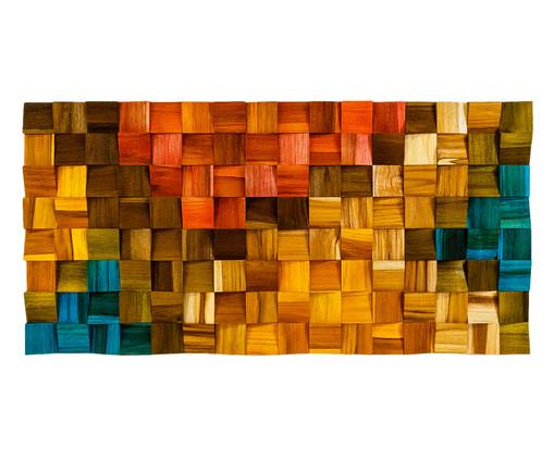 Quadro De Madeira 3D - Wana, multicolor | WestwingNow
