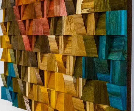 Quadro De Madeira 3D - Wana | WestwingNow