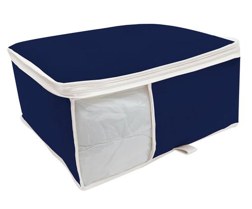 Organizador para Edredom Nicky Brown- Azul Marinho, Azul | WestwingNow