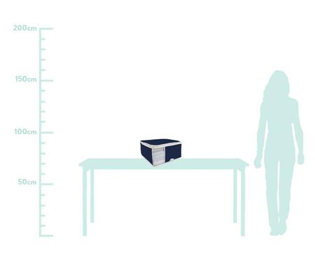 Organizador para Toalhas Nicky Brown - Azul Marinho | WestwingNow