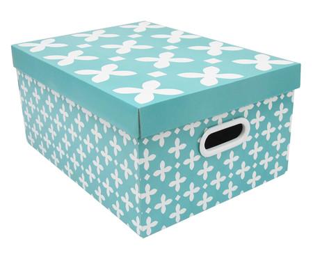 Caixa Organizadora Flor de Lis - Azul | WestwingNow