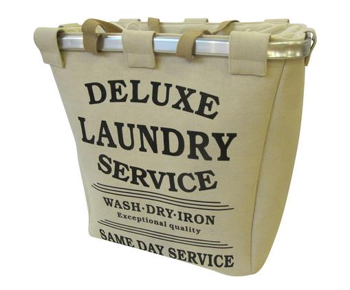 Cesto Organizador Deluxe Laundry Service, Creme | WestwingNow