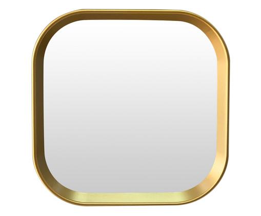 Espelho de Parede Kijo - Dourado, Dourado | WestwingNow