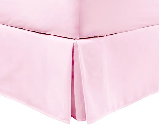 Saia para Cama Box com Prega Lise Rosa Ballet - 150 Fios, Rosa Ballet | WestwingNow