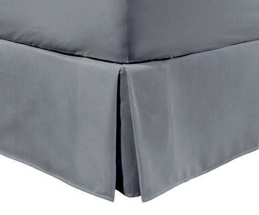 Saia para Cama Box com Prega Lise Fendi Concret - 150 Fios, Fendi Concret   WestwingNow