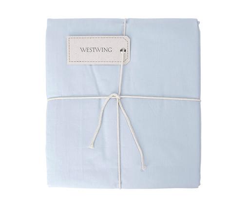 Lençol com Elástico Lise Azul Algodão - 150 Fios, Azul Algodão | WestwingNow