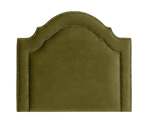 Cabeceira Painel em Veludo Royal Tacha - Verde, Verde | WestwingNow