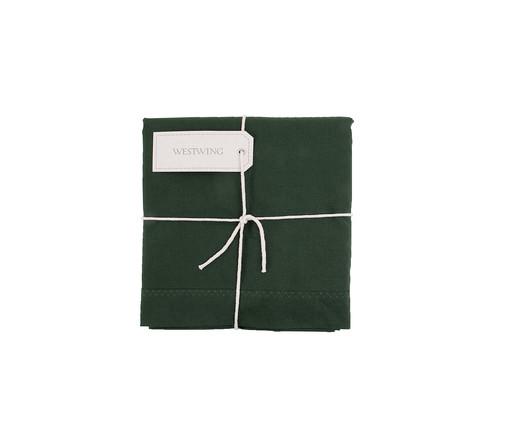 Lençol sem Elástico Lise Verde Militar - 150 Fios, Verde Militar | WestwingNow