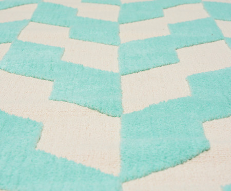 Tapete Turco Pequeno Doha Prime Danish - Mint Cream | WestwingNow