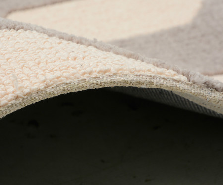 Passadeira Turco Doha Prime Dan - Concreto e Cream | WestwingNow