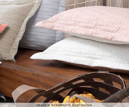Porta-Travesseiro Aquarele Chocolate 150 Fios - Marrom | WestwingNow