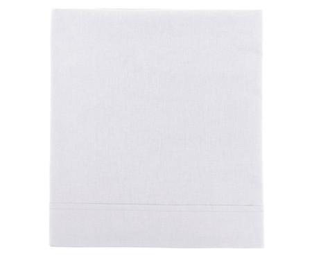 Lençol Superior Aquarele 150 fios - Branco | WestwingNow