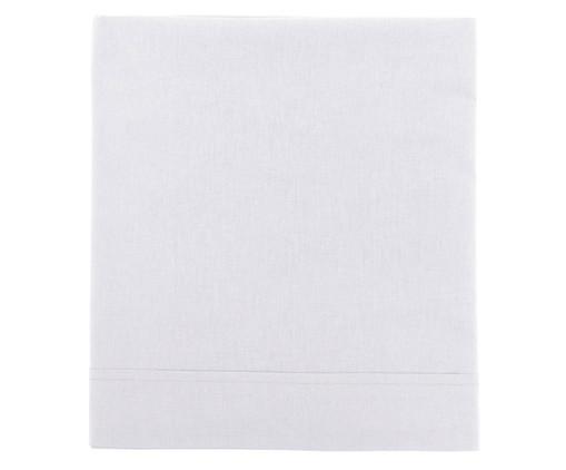 Lençol Superior Aquarele 150 fios - Branco, Branco   WestwingNow