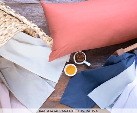 Lençol Superior Aquarele Chocolate Algodão 150 fios - Marrom | WestwingNow