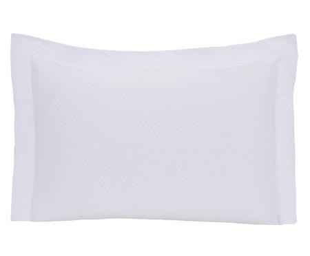 Fronha de Travesseiro 100% Algodão 150 Fios Aquarele - Branca | WestwingNow