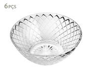 Jogo de Bowls em Vidro Lupe - Transparente | WestwingNow