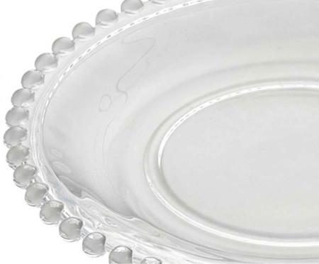 Jogo de Pratos para Sobremesa em Cristal Pearl - 04 Pessoas | WestwingNow