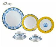 Jogo de Jantar em Porcelana Super White Amalfi - 06 Pessoas | WestwingNow