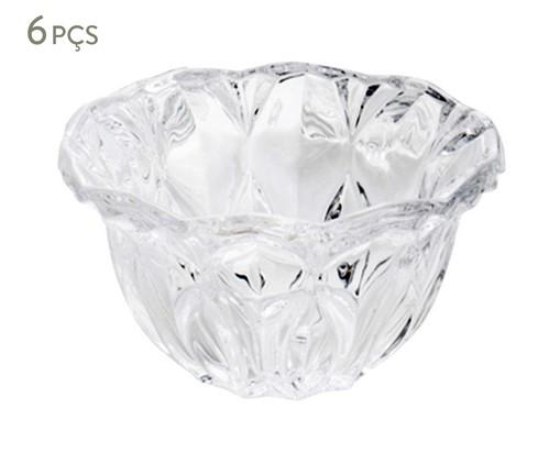 Jogo de Bowls em Cristal Louise 06 Pessoas - Transparente, Transparente | WestwingNow