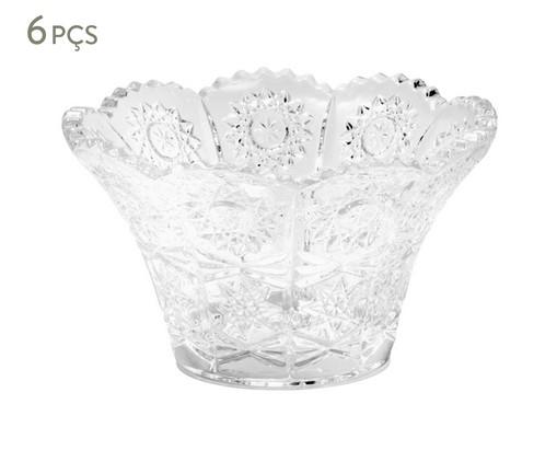 Jogo de Bowls em Cristal Legacy Transparente - 06 Pessoas, Transparente | WestwingNow