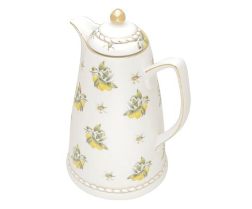 Garrafa Térmica em Porcelana Lemon - Colorida, Branco   WestwingNow