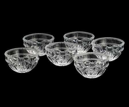 Jogo de Bowls em Cristal Royal - Transparente | WestwingNow